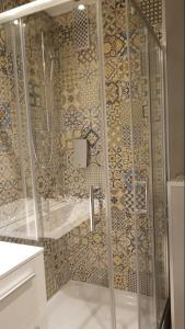 A bathroom at Hotel Lindenhof