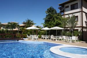 The swimming pool at or close to Apartment Terraces Porto Das Baleias