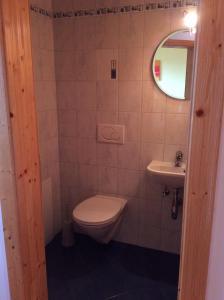 Ein Badezimmer in der Unterkunft Almhaus Karantanien