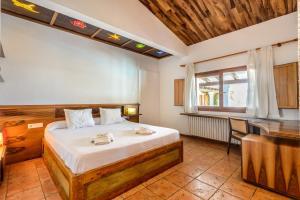 Un ou plusieurs lits dans un hébergement de l'établissement Es Pas Formentera Agroturismo