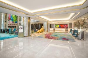 The lobby or reception area at InterContinental Hotels Jakarta Pondok Indah, an IHG Hotel