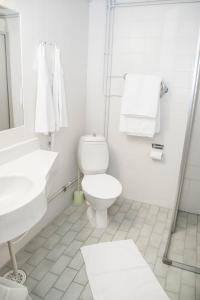 A bathroom at Hotel Paljakka