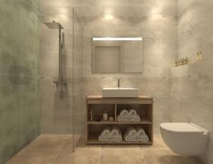 Ванная комната в Twister Apartments