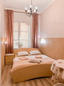 Un ou plusieurs lits dans un hébergement de l'établissement Hostel u Kmity