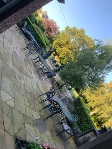 A balcony or terrace at Collingwood Arms Hotel