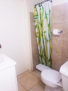 A bathroom at Eventuality B&B New Kingston