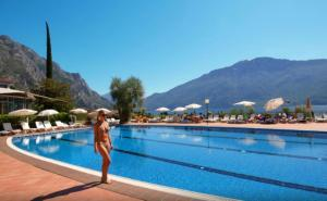 The swimming pool at or near Hotel Saturno