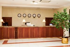 Лобби или стойка регистрации в Спа Отель Синдика