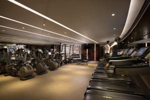 The fitness center and/or fitness facilities at Conrad Hong Kong