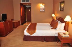 ミュリア ホテルにあるベッド