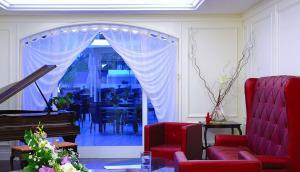 Area soggiorno di Hotel Meridiana