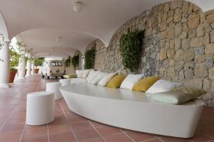 The lounge or bar area at Villa Piedimonte