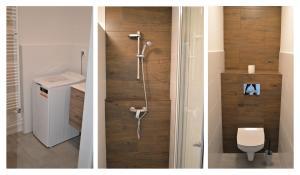 Kúpeľňa v ubytovaní SGL apartments Lavickova