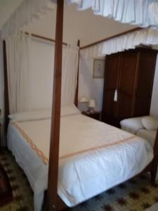 Cama o camas de una habitación en Casa De Comedias