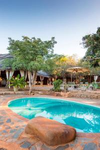 The swimming pool at or close to White Elephant Safaris