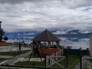 Children's play area at Hotel complex Baikalskiy Rai