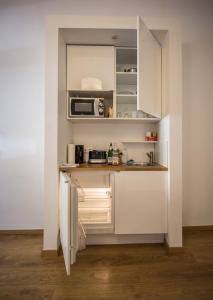 Küche/Küchenzeile in der Unterkunft Nena Apartments - Bergmannkiez ehm Traumbergflats