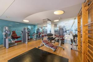 The fitness center and/or fitness facilities at Las Arenas Balneario Resort