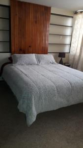 A bed or beds in a room at Peaceful Private Apartment in Great Location!