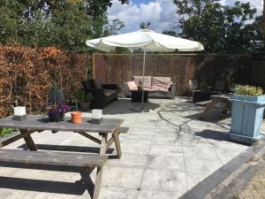 A patio or other outdoor area at Lyklamastate