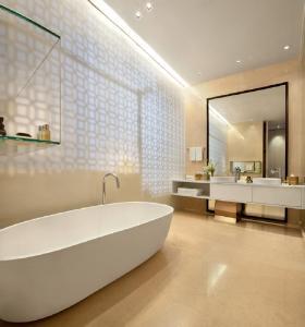 A bathroom at The Taj Mahal Palace, Mumbai