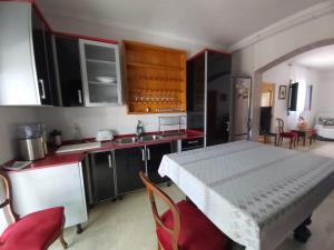 Una cocina o zona de cocina en Cortijo Torreblanca