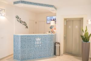 The lobby or reception area at Hotel Regina Simius