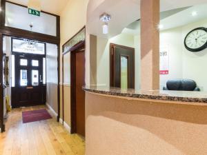 Lobbyn eller receptionsområdet på Notting Hill Gate Hotel