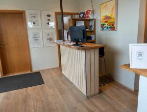 Lobby/Rezeption in der Unterkunft T10 Hotel Iceland
