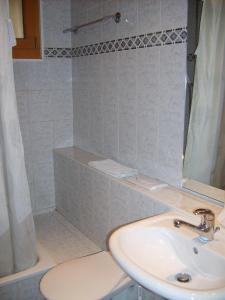 Ein Badezimmer in der Unterkunft Résidence Castel Club Leysin Parc
