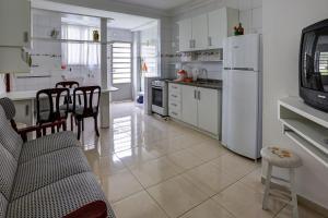 A cozinha ou cozinha compacta de Pousada Kindermann