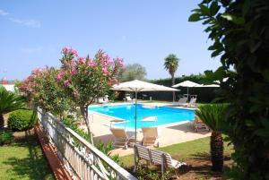 The swimming pool at or near Villa Teresa