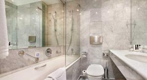 Koupelna v ubytování Dvorak Spa & Wellness