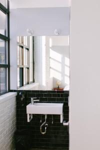 A bathroom at The Local NY