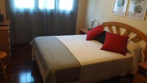 A bed or beds in a room at Mar e Vento