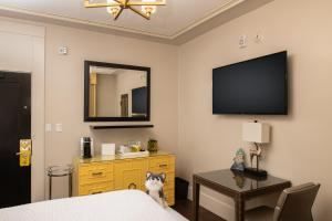 A television and/or entertainment center at Staypineapple, An Elegant Hotel, Union Square
