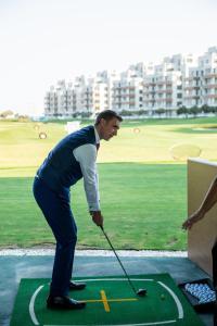 Golfe no hotel ou nos arredores