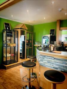 Lounge oder Bar in der Unterkunft Parkhotel Schotten
