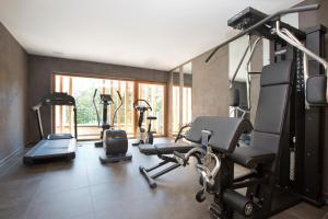 The fitness center and/or fitness facilities at Minglers Sportalm - Das Gourmet- und Genießerhotel