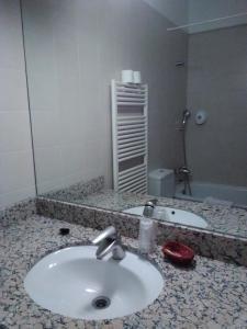 A bathroom at HOTEL TURPÍ