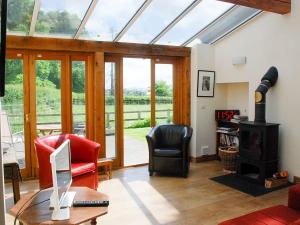 A seating area at The Byre