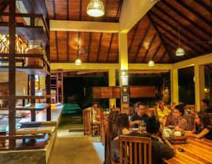 A restaurant or other place to eat at The Spice Trail