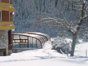 Hotel Montarto en invierno
