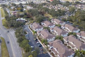 A bird's-eye view of 2956 Lucaya Village - Gorgeous Four Bed Condo Close to Disney Area