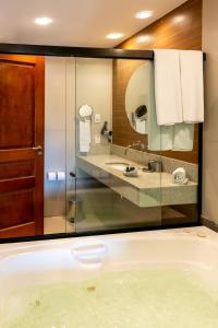 A bathroom at Hotel Ferradura Resort