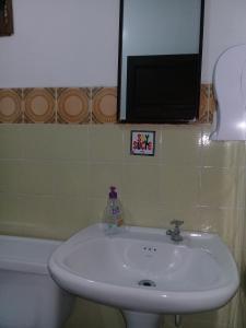 Salle de bains dans l'établissement Hostal Condor B&B