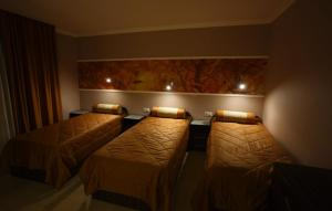 A bed or beds in a room at Seasons Hostel