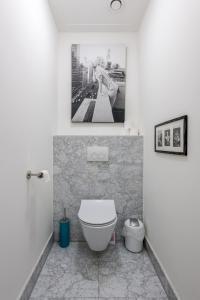 Een badkamer bij The Old Lady