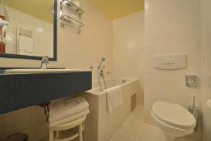 Salle de bains dans l'établissement Hotel U 3 Pstrosu