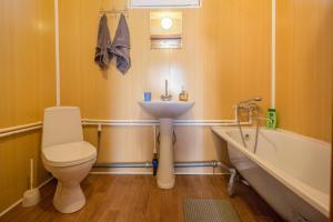 Ванная комната в База отдыха Байкальская Радуга